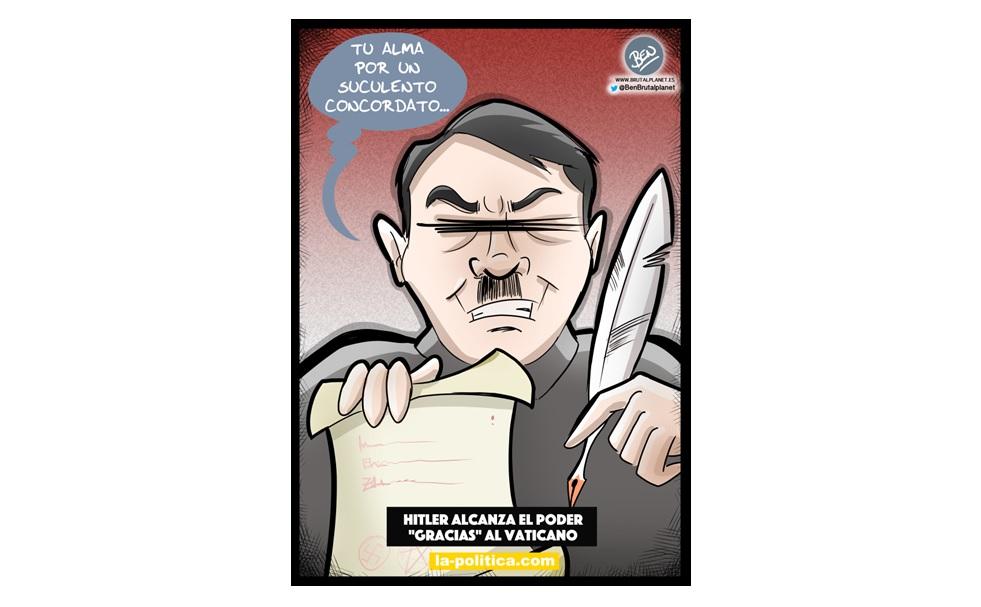 """Hitler alcanza el poder """"gracias"""" al  Vaticano"""