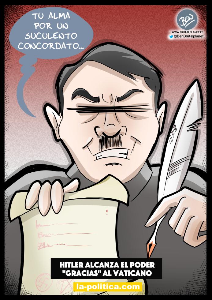 Hitler alcanza el poder gracias al Vaticano