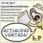#ActualidadViñetada 03-04-2017 Especial: Brexit – Gibralatar