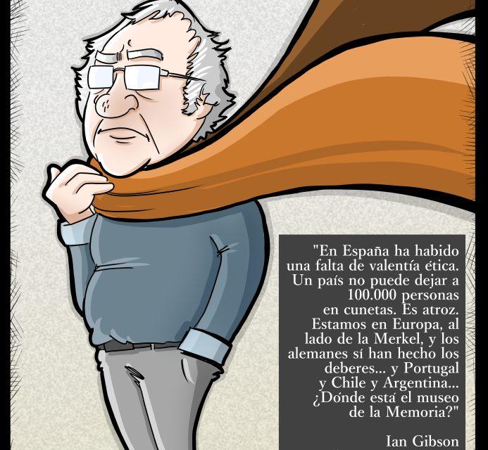 Ian Gibson: En España ha habido una falta de valentía ética. Un país no puede dejar a 100.000 personas en cunetas, es atroz