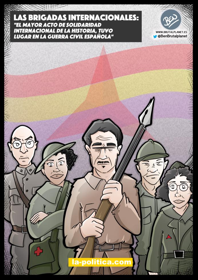 Las Brigadas Internacionales - Guerra Civil de España - Ludvig Renn, Salaria Kea, George Orwell, Jack Shirai, Simone Weil