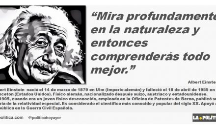 Albert Einstein: La Naturaleza