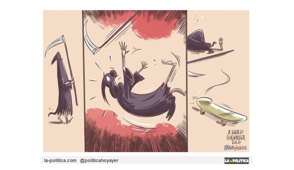 """Homenaje de dibujantes españoles a Ignacio Echeverría, el """"Héroe del Monopatín"""", el """"Skateboard Hero"""""""