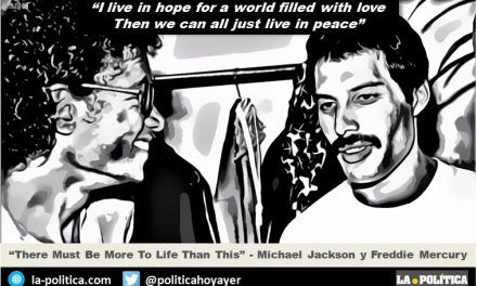 """There Must Be More To Life Than This"" – Michael Jackson y Freddie Mercury juntos"
