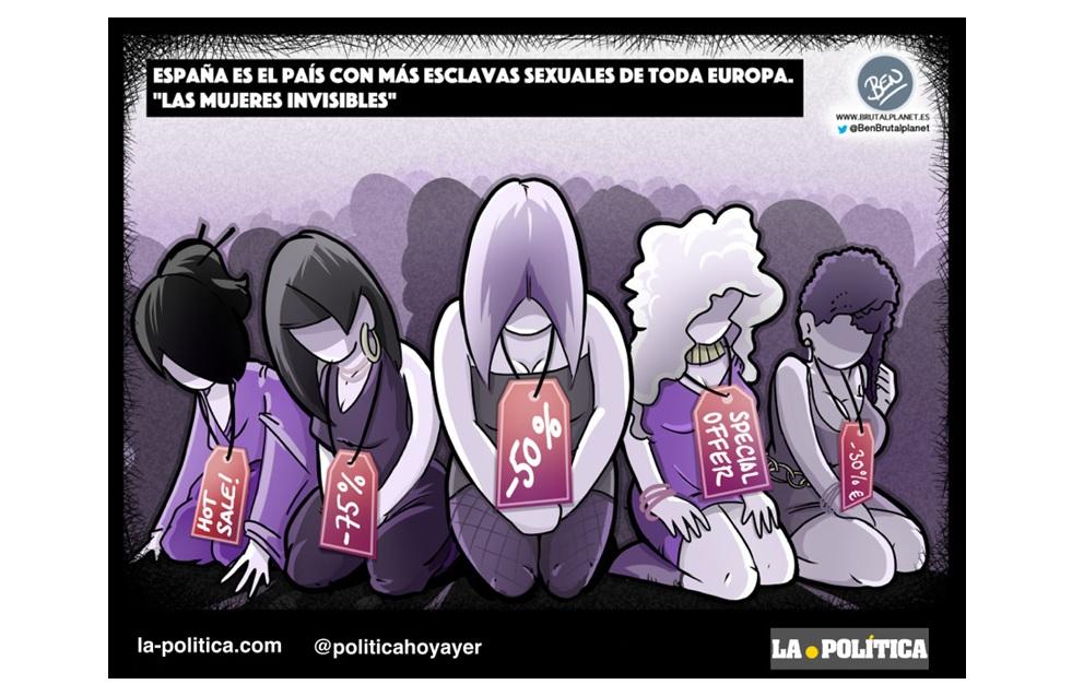 """España es el país con más esclavas sexuales de toda Europa. """"Las mujeres invisibles"""""""