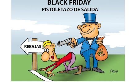 Llega el Black Friday ¡No presentes resistencia!
