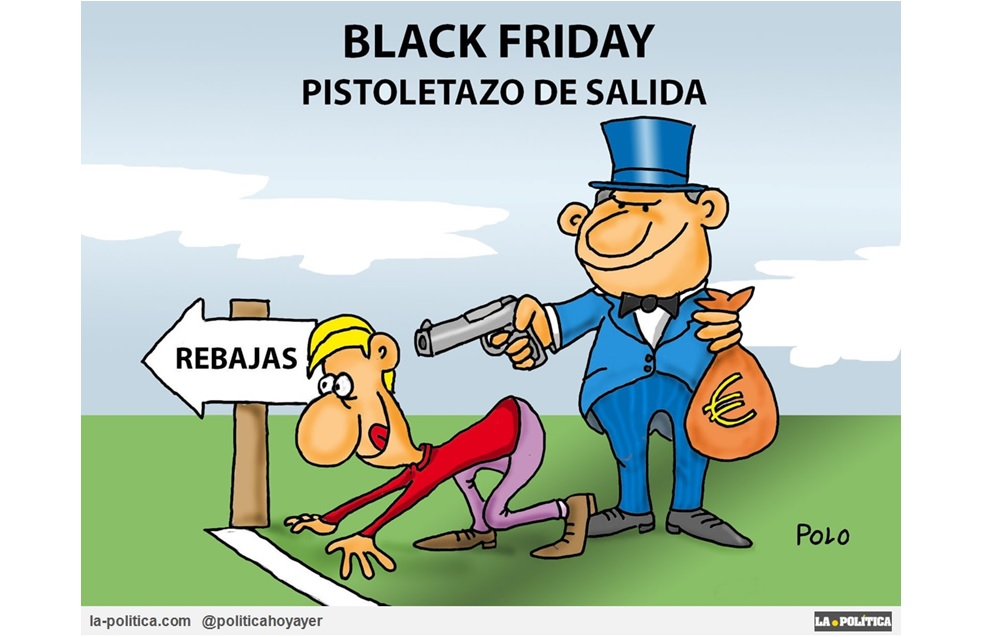 Llega el Black Friday ¡No presentes resistencia!