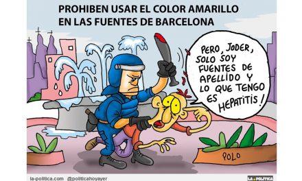 El amarillo pasará como un color prohibido en la Historia de España