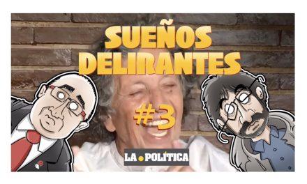 """Sueños delirantes #3 """"Jordi Évole y Miquel Iceta escuchan potentes y estruendosas voces"""""""