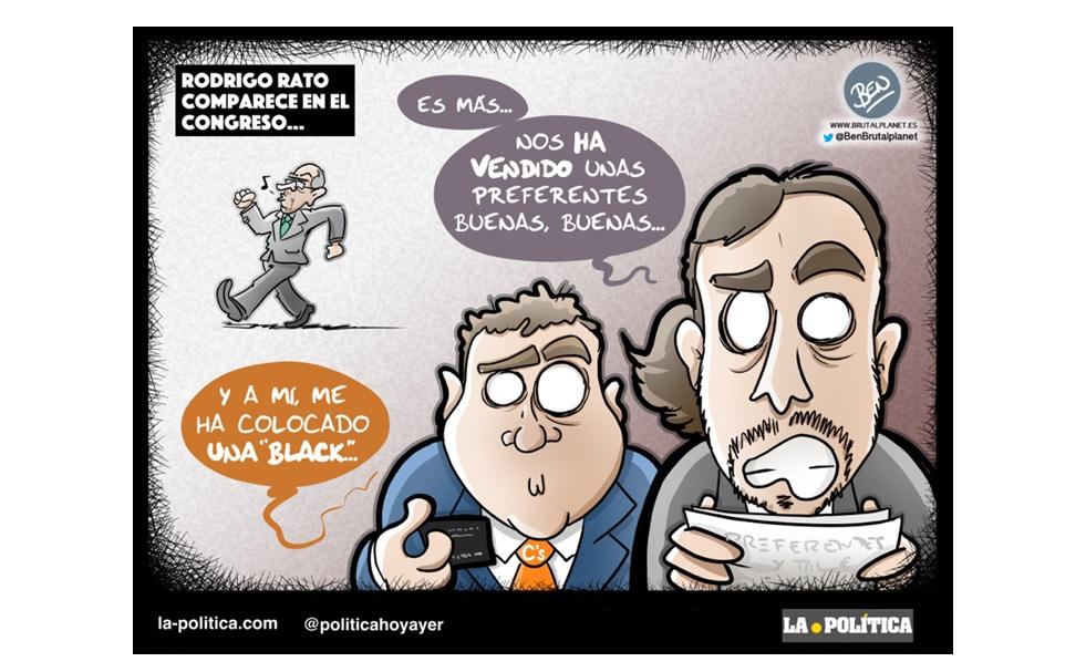 """Cuidado con Rodrigo Rato, """"El Listo y el Preparao"""": No tuvo culpa de la gestación de la crisis, Zapatero gestionó mal la burbuja inmobiliaria y De Guindos es el culpable de la caída de Bankia"""