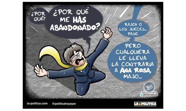 Ana Rosa aprovechó la indiscreción de los mensajes de Puigdemont a Comín y el procés revolucionó