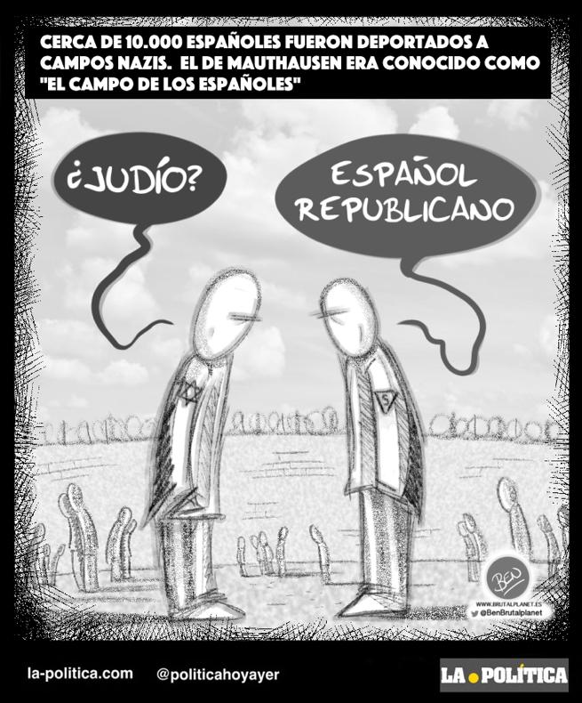 españoles en mauthausen historia
