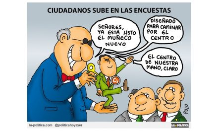 En la últimas encuestas de intención de voto, el partido de Ciudadanos se posiciona en España como la primera fuerza política