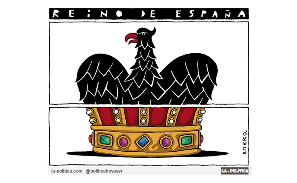 Yo no voté a ningún rey y tú tampoco