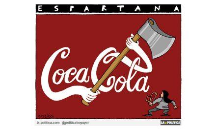 ¡Espartanas! ¡Espartanos! Esta noche cenaremos sin Coca-Cola