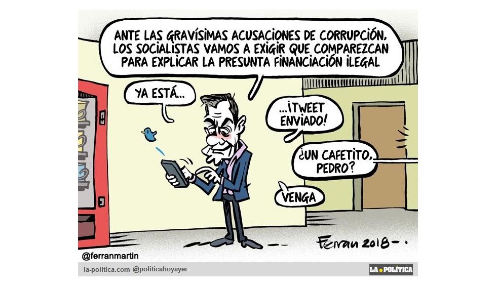 """Granados reconoce ante el juez que Cifuentes, González y Aguirre participaban en la financiación ilegal del PP de Madrid. Y mientras el PSOE lanza tuits y habla de """"descuidos"""""""