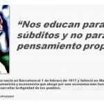 """José Luis Sampedro: """"Nos educan para ser súbditos y no para tener pensamiento propio"""""""
