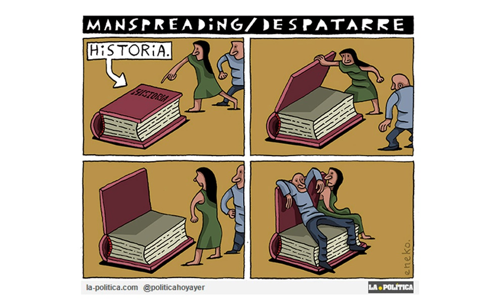 """El """"Manspreading Histórico"""""""