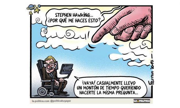 """Fallece Stephen Hawking. Recordamos una de sus famosas frases: """"La vida sería trágica si no fuera graciosa"""""""