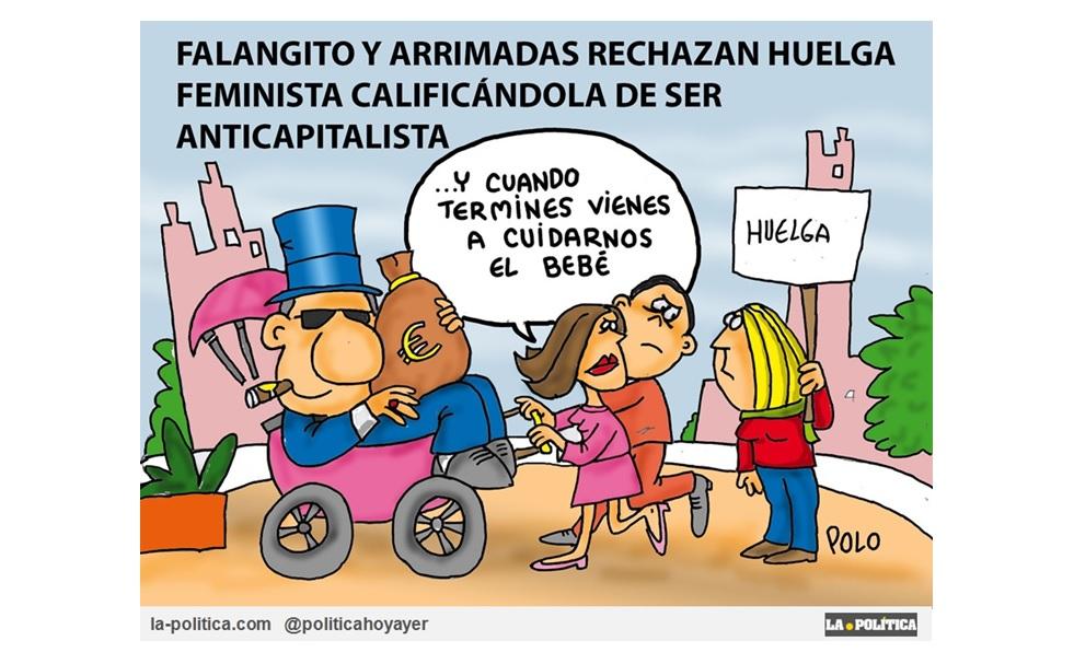 Ciudadanos no apoya la Huelga Feminista, porque la considera anticapitalista