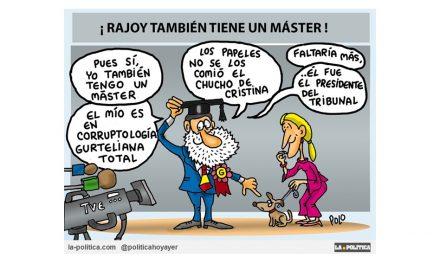 El Máster de Rajoy