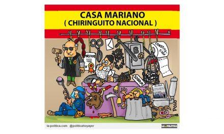 """Mariano Rajoy consigue llegar a un acuerdo para aprobar los presupuestos con Ciudadanos, y sigue contento en su """"Chiringuito Nacional"""""""