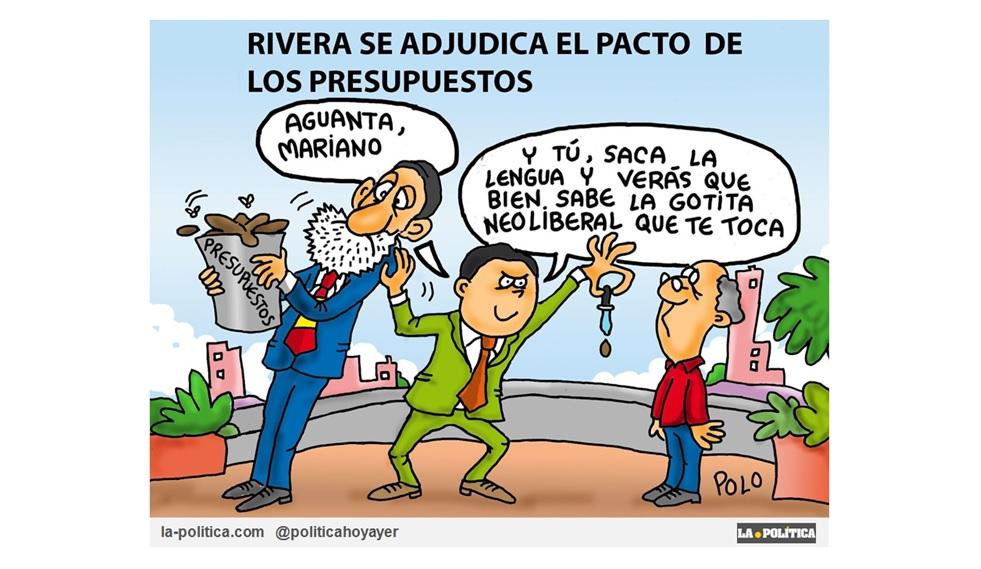 """Rivera se adjudica las mejoras que ha propuesto el Gobierno para los presupuestos de 2018 y Montoro le adelanta en este caso """"por la izquierda"""""""
