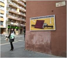 """Display """"Arte en la calle"""""""