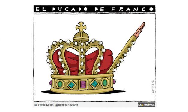 ¿Por qué Juan Carlos I otorgó el título de Duquesa a la hija del dictador Francisco Franco?