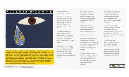 Luis Eduardo Aute: Aleluya Nº 1