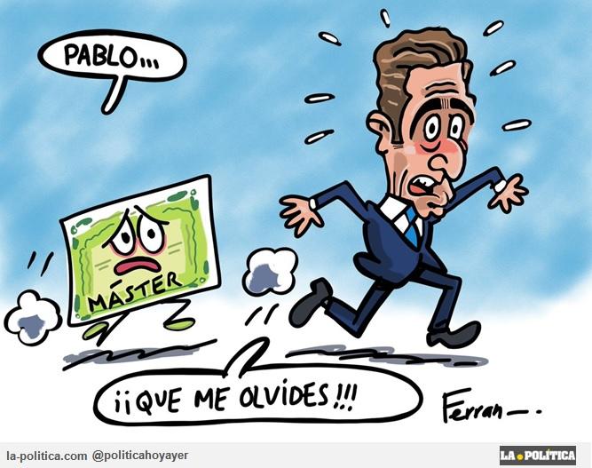 Viñeta Ferran Martín - Pablo Casado