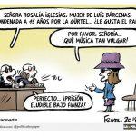 La fianza de Rosalía Iglesias por delitos de blanqueo de capitales o intento de estafa procesal es curiosamente inferior a la impuesta a un youtuber