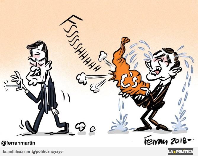 Viñeta de Ferran Martín