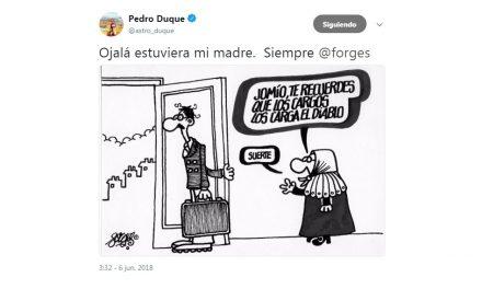 Pedro Duque, un ministro de altas miras y con gran sentido del humor