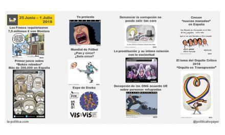 La semana en viñetas 25 junio – 1 de julio