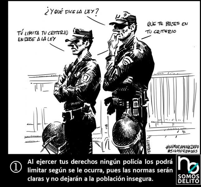 Ley Mordaza - El Lumpen