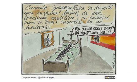 """¿Qué pasó con los fachas durante la """"Transición"""" y los más de 40 años de """"Democracia"""" española?"""