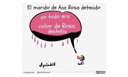 El empresario Juan Muñoz, marido de Ana Rosa Quintana, fue detenido en el marco de la operación Tándem por la que está en prisión el excomisario Villarejo
