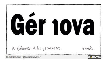 En La-Politica.com nos solidarizamos con los genoveses tras la tragedia del derrumbe del viaducto Morandi