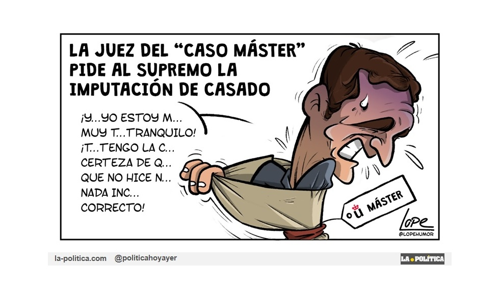 Pablo Casado tendrá que esperar a septiembre para averiguar si es investigado por su máster en el Tribunal Supremo