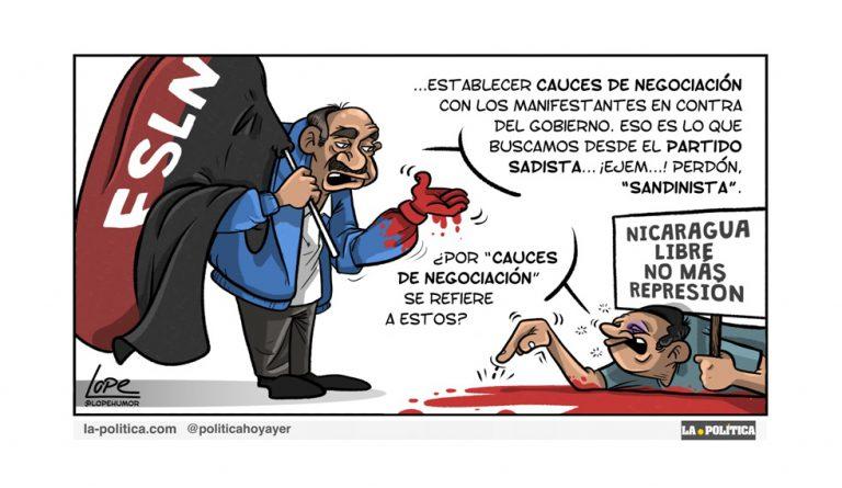 Revolución y contrarrevolución en Nicaragua (2 de 3) Artículo Doctor Kolimari Viñeta Lope
