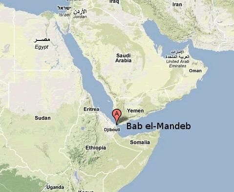 Estrecho Bab el-Mandeb
