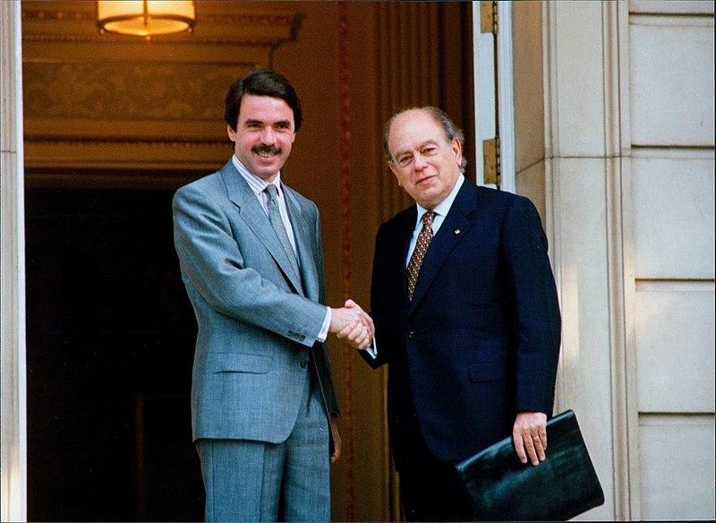 Aznar con Pujo - Pacto de Majestic