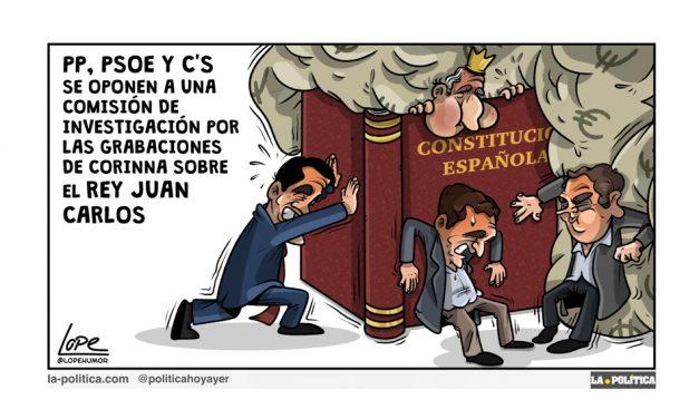 PP, PSOE y C´s rechazan investigar las finanzas del rey emérito Juan Carlos, cuando según Podemos hay sospechas de que incurrió en evasión fiscal