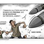 Contra la venta de armas, que las carga el diablo