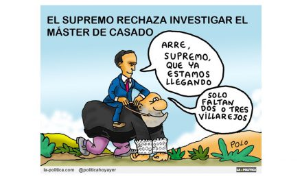 """El Supremo rechaza investigar el máster de Casado pero la Audiencia Nacional da la sorpresa sobre los """"casos máster"""". Todavía """"hay juego"""""""