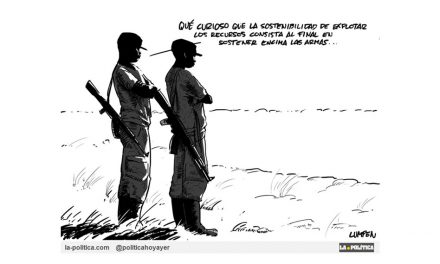 Sangre, sudor y metales se intercambian en Congo