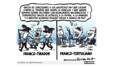 Un francotirador planeaba un atentado contra el presidente del Gobierno, por la exhumación de Franco