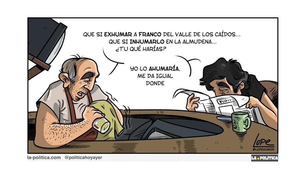 ¡Españoles, Franco ha vuelto!