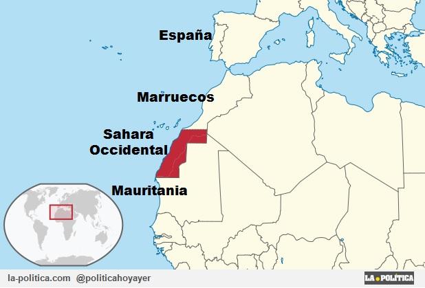 Sahara Occidental - Marruecos - Mauritania - España